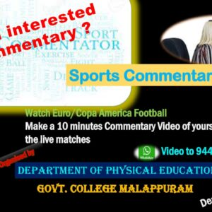 Sports Commentary Contest