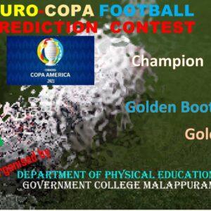 EURO- COPA Footaball Prediction Contest
